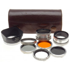 Rolleiflex Bay I Filter Kit Museum condition 2x Rolleinar Set 5x Lens Hood cased