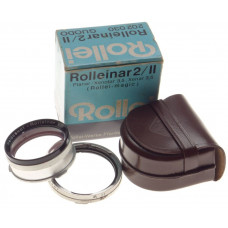 Rolleiflex TLR camera Rolleinar II/2 RII lens GUODO mint 202030 box leather case