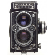 Rolleiflex 1:3.5/75 Xenotar lens TLR vintage film camera 3.5 f=75mm cased used