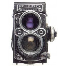 2.8F Rolleiflex TLR Zeiss Planar 1:2.8/80mm coated glass f=80mm metered body kit