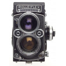 Zeiss Planar 2.8F Rolleiflex TLR 2.8/80mm coated glass f=80mm Mint- body cap kit