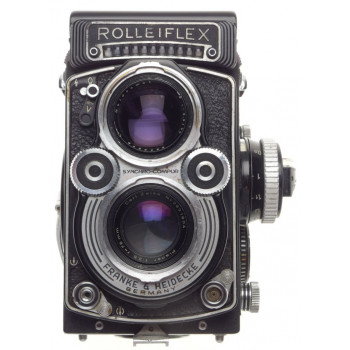 3.5 F Rolleiflex 3.5F TLR Planar Zeiss 3.5/75mm medium format coated lenses f=75
