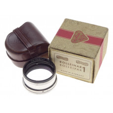 Rolleiflex Rolleinar I 1  Rolleipar close focus TLR lens attachment cased boxed