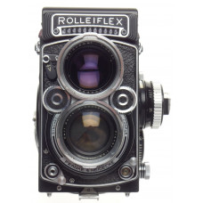 Rolleiflex 2.8F TLR camera Zeiss Planar 2.8/80mm lens case strap Prism dream kit