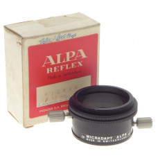 ALPA REFLEX MICRAN 33mm SLR VINTAGE FILM CAMERA LENS MICRADAPT BOXED ADAPTER