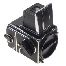 2000FC Hasselblad 6x6 medium format camera body 12 film back chrome WLF Mint Box