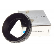 extension tube 21 close macro Hasselblad V series medium format camera tube box