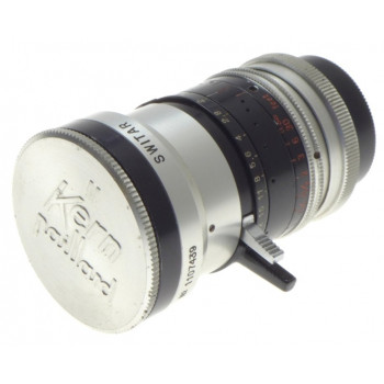 1.6 f=10mm WIDE ANGLE PRE-SET C-MOUNT H16RX FILM MOVIE CAMERA LENS BOLEX 1.6/10