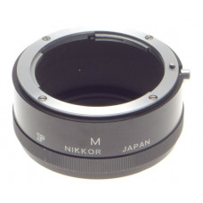 NIKON F VINTAGE SLR 35mm FILM CAMERA LENS ADAPTER NIKKOR M USED EXCELLENT CONDIT