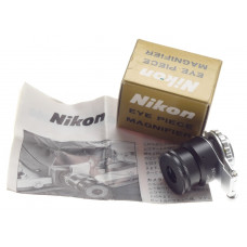NIKON EYEPIECE MAGNIFIER FOCUSSING FLIP UP TYPE FITS 35mm VINTAGE FILM CAMERAS
