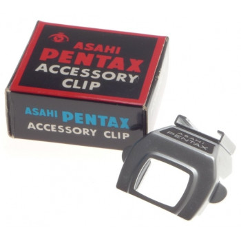 ASAHI PENTAX ACCESSORY CLIP FITS VINTAGE 35mm SLR FILM CAMERA BOX MINT CONDITION