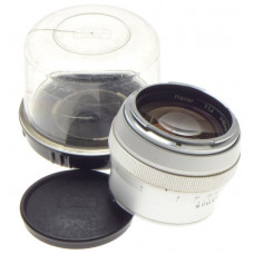 CARL ZEISS CONTAREX CHROME 1:1.4/55 PLANAR 1.4 f=55mm FAST PORTRAIT CAMERA LENS