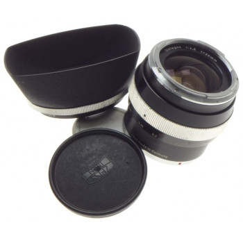ZEISS CONTAREX BLACK 1:2.8/25 DISTAGON 1:2.8 f=25mm SLR VINTAGE CAMERA LENS HOOD