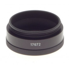 LEICA 17672U SUMMICRON BELLOWS LENS ADAPTER RING SCREW BARGAIN SPARE PART BLACK