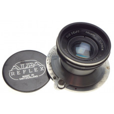 ALPA Old Delft ALFINON 1:2.8/50 SLR prime camera lens f=50mm chrome rare cap