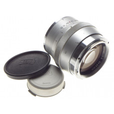 ZEISS CONTAREX Sonnar 1:2/85mm chrome SLR coated prime camera lens f=85mm caps