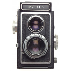 IKOFLEX TLR Novar-Anastigmat 1:3.5 f=75mm Zeiss Ikon medium format camera cased