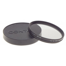 Carl Zeiss CONTAX front lens cap with HELIOPLAN 67 Pol. Lin. 2.5x lens filter