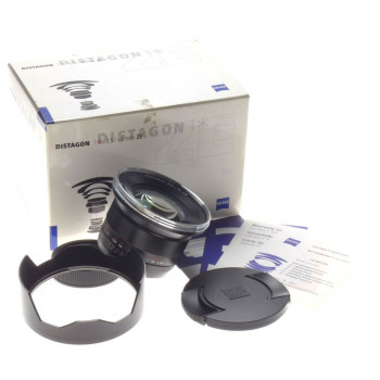Carl Zeiss 3.5/18mm DISTAGON T* ZE f=18mm wide angle lens new hood caps mint box