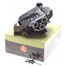 H16 BOLEX vintage movie 16mm film camera body boxed working order used condition