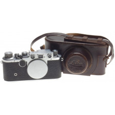 IIC LEITZ M39 SCREW MOUNT RANGE FINDER 35mm FILM CAMERA VINTAGE LEICA BODY CASE
