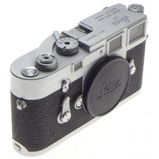 JUST SERVICED CLA'd LEICA M3 CHROME LEITZ 35mm FILM CAMERA BODY SINGLE STROKE