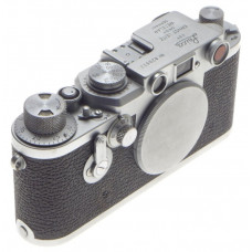 JUST SERVICED LEICA IIIf SCREW MOUNT LEITZ M39 RANGE FINDER FILM CAMERA BODY CAP