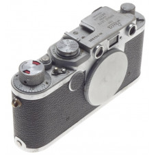 WELL USED LEICA IIF LEITZ 35mm FILM CAMERA 2f BODY M39 SCREW MOUNT RANGE FINDER