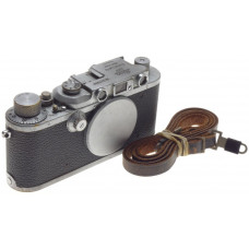 JUST SERVICED WELL USED LEICA IIIa WORK HORSE VINTAGE 35mm LEITZ FILM CAMERA 3a