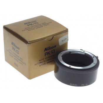 AI-S NIKON PK-13 AUTO EXTENSION RING 27.5 MINT SLR 35mm CAMERA ADAPTER BOXED