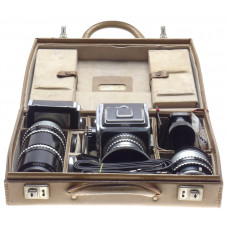 1000f HASSELBLAD 2 zeiss lens EKTAR camera kit prism finder case prism documents