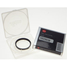 Leica 13131 rangefinder Filter E 39 UVa E39 Black Mint box fit f2 summicron 50mm