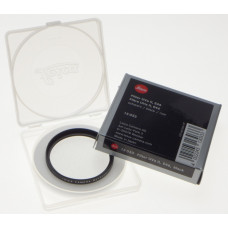 LEICA 13033 camera lens Filter UVa II E46 Black Boxed MINT E 46 Summilux 1.4/50