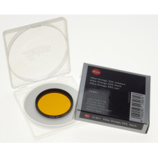 13061 LEICA Orange camera lens filter Or E 39 Black boxed MINT E39 Summicron F2