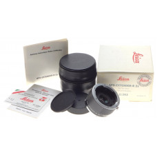 LEICA 11262 APO-EXTENDER-R 2x converter SLR camera lens MINT- in box caps papers