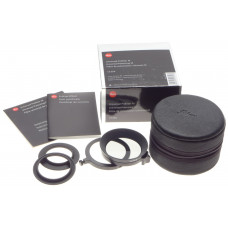 BOX Leica polarizing pol filter M 13356 universal swing out case e39 e46 adapter