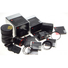 Leica Tri-Elmar-M 1:4/16-18-21mm ASPH 6 bit 11626 kit 12011 finder filters UV IR