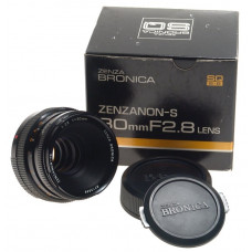 BRONICA SQ ZENZANON-S 80mm F2.8 LENS 2.8/80mm NEW BOX