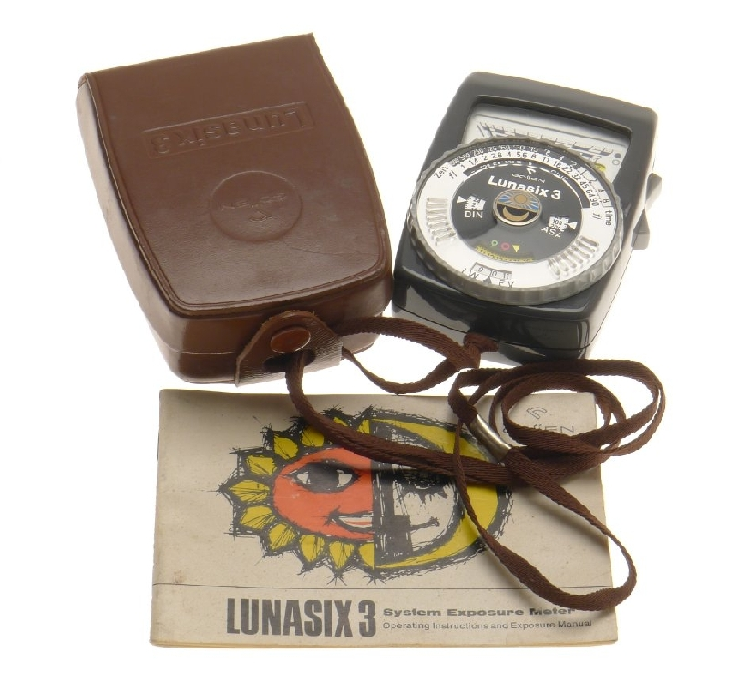 PHOTOGRAPHICA EXPOSURE METER WITH INSTRUCTIONS